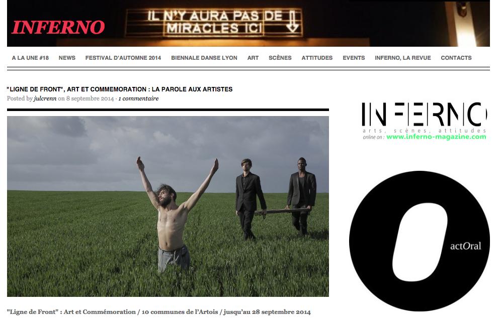 Inferno magazine