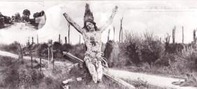 Après la Guerre, le Christ retrouve sa positionne dans la destruction