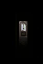 a window in the castello Risolo (Specchia)