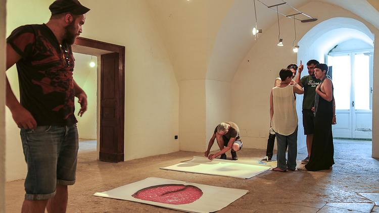 Installing Enrico Carpinello work_#3