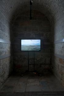 """Foto dell'installazione per la mostra """"Here/there"""" (Hastings, UK)"""